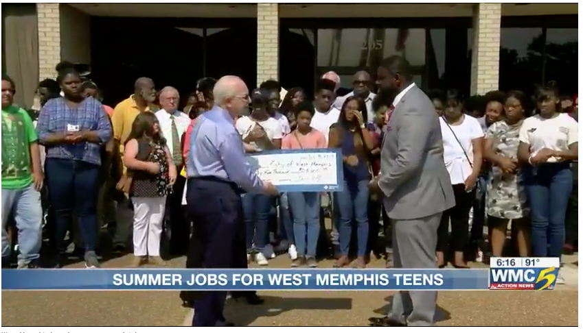West Memphis kicks off youth summer jobs program
