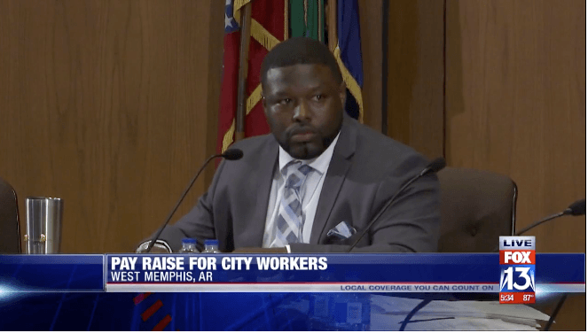 City of West Memphis Mayor Marco McClendon City Council Pay Raises for City of West Memphis Police a
