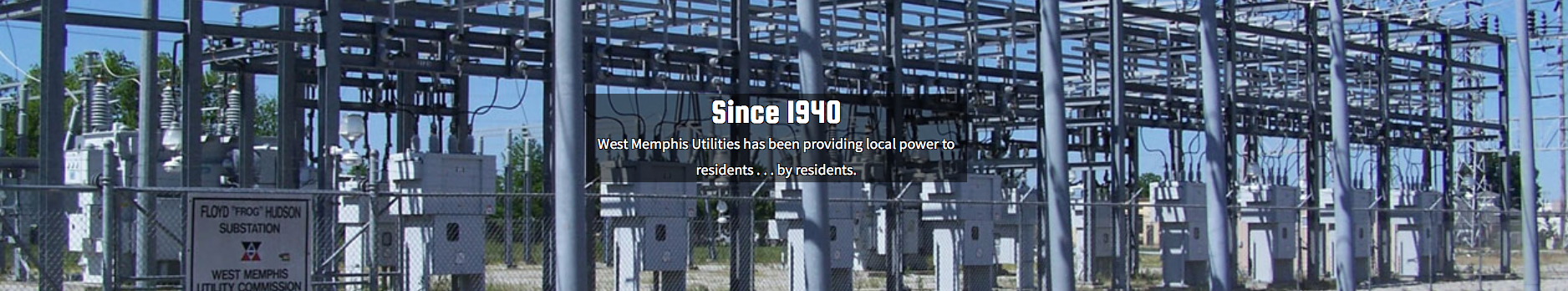 West Memphis Utilities Power Grid