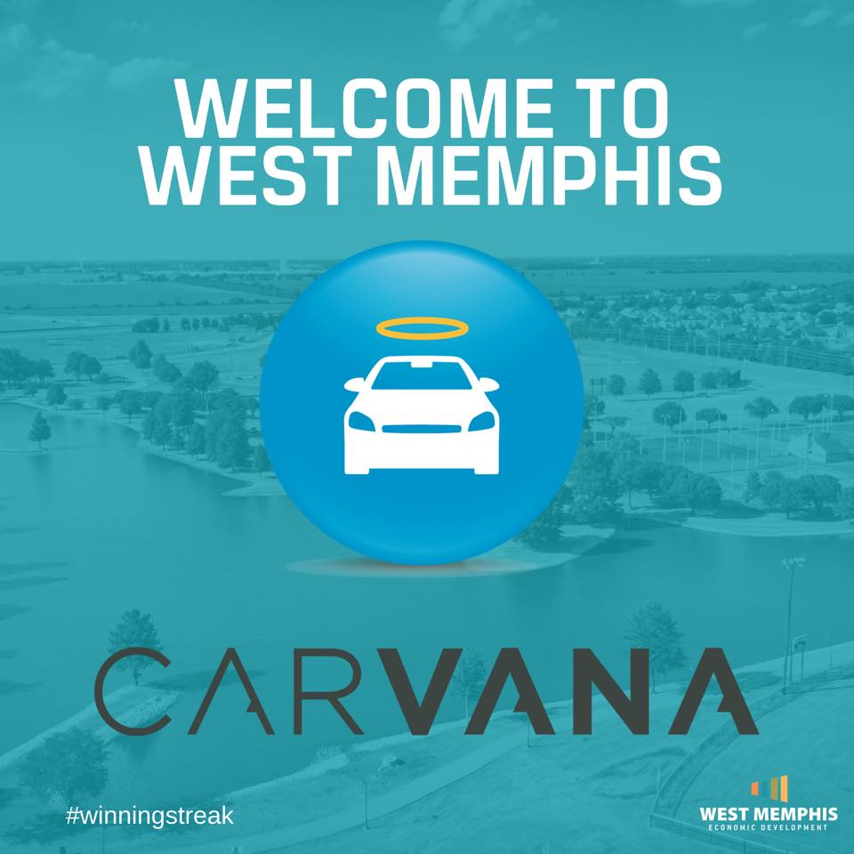 Carvana Welcome to West Memphis