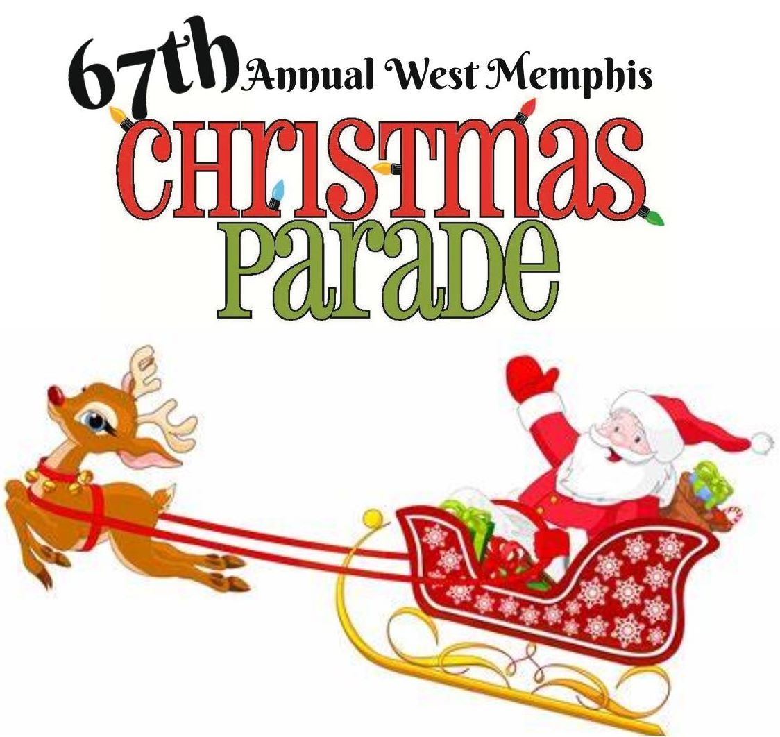 67th Annual West Memphis Christmas Parade logo