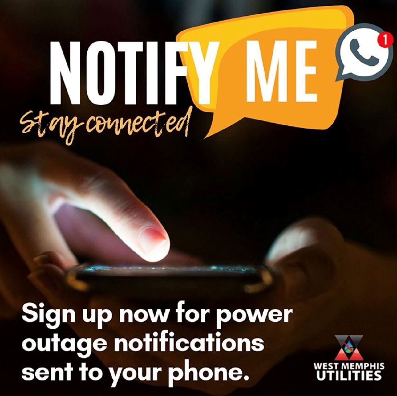 notify me west memphis utilities