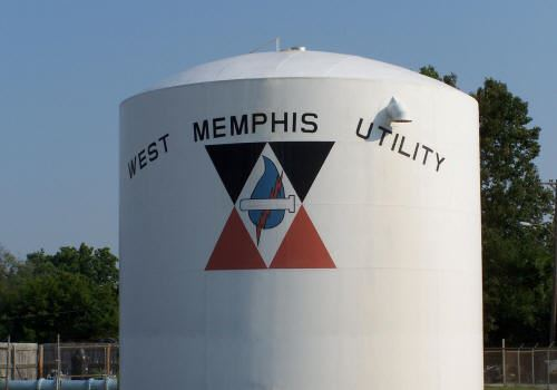 West Memphis Utility Water Tank