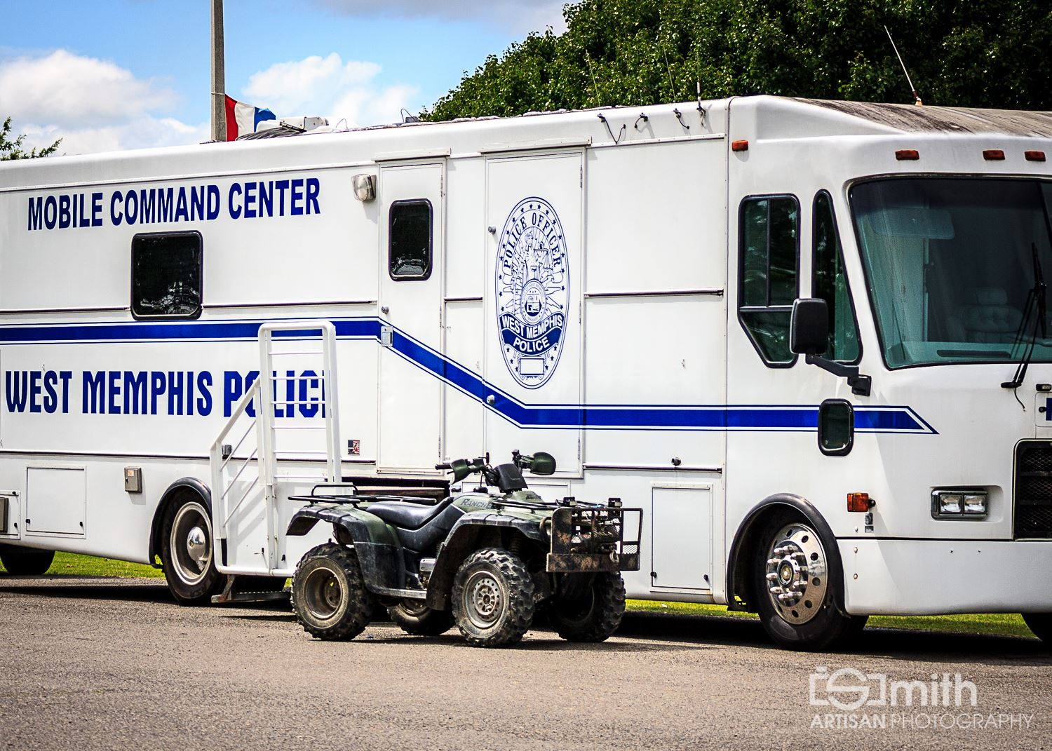 West Memphis Police Department Mobile Command Center