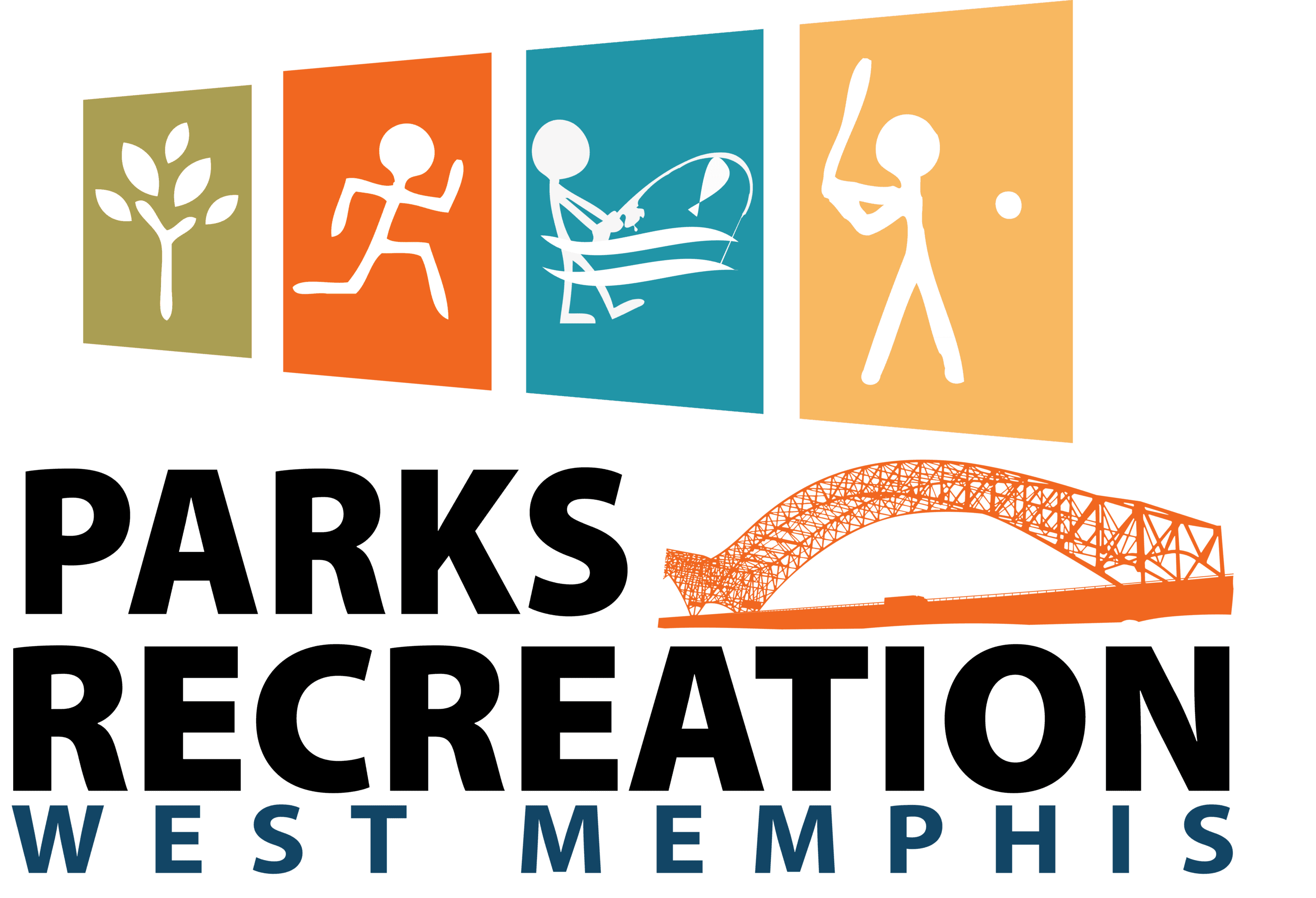 West Memphis Parks and  Recreation Logo