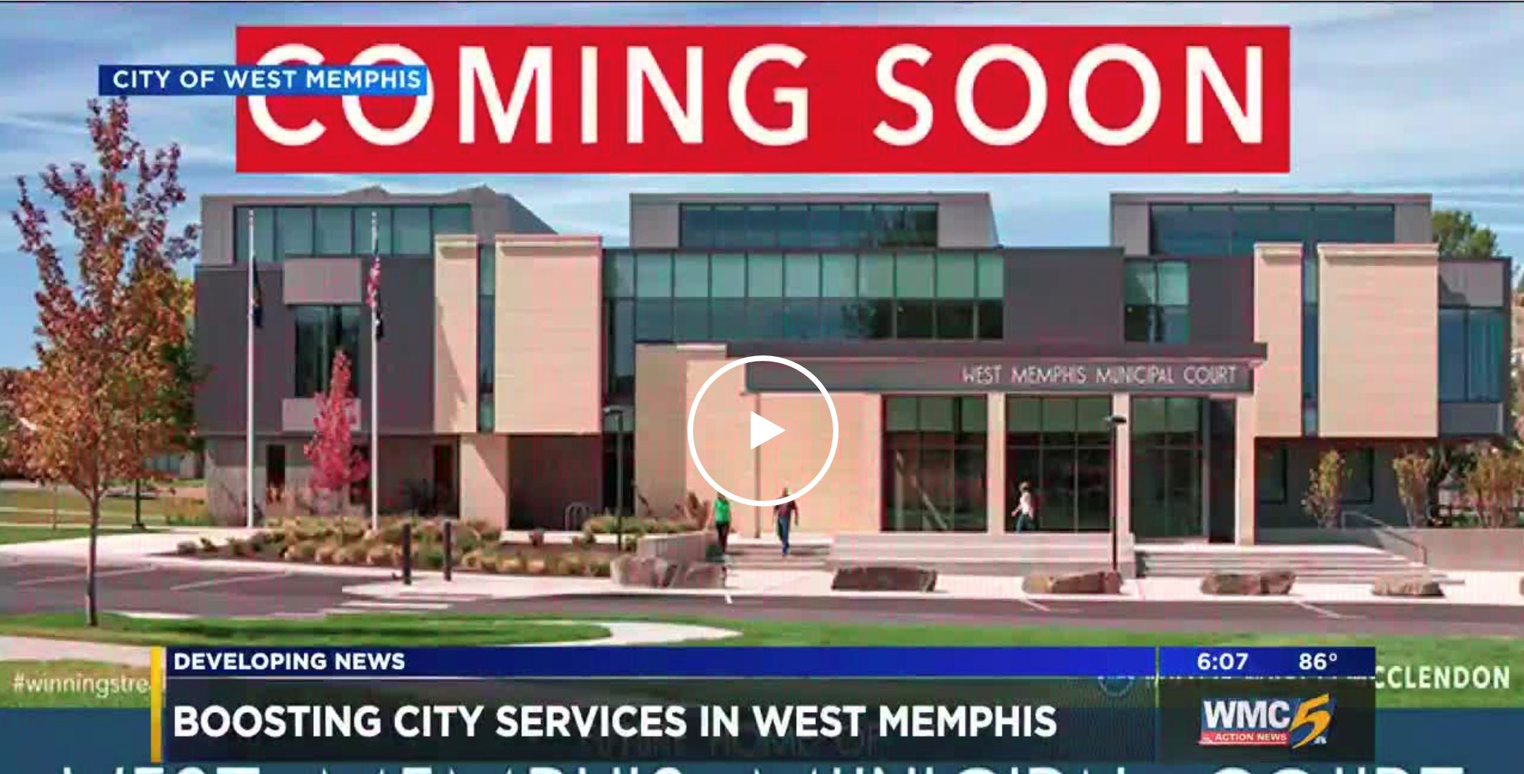 West Memphis $12 Million Municipal Expansion Project
