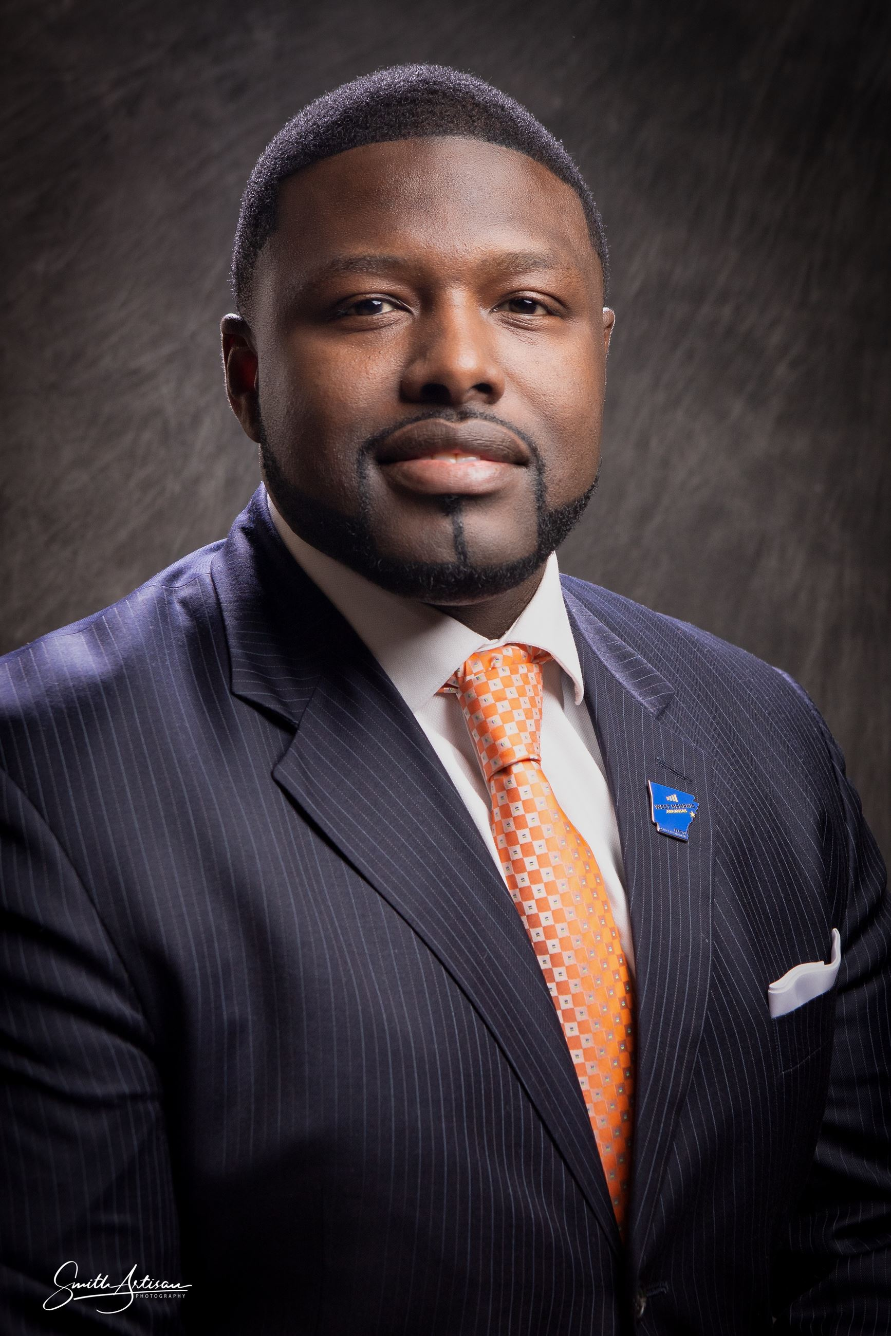 West Memphis Mayor Marco McClendon Portrait