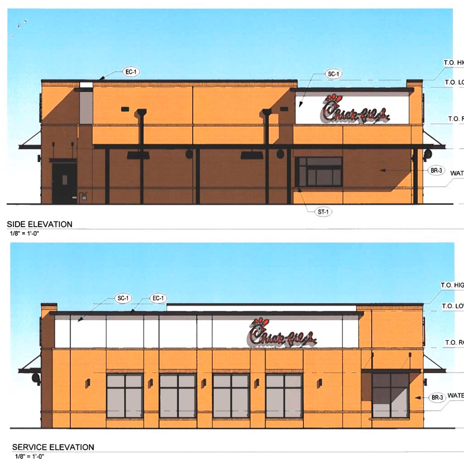 Chick-fil-A Rendering in West Memphis, Arkansas 2