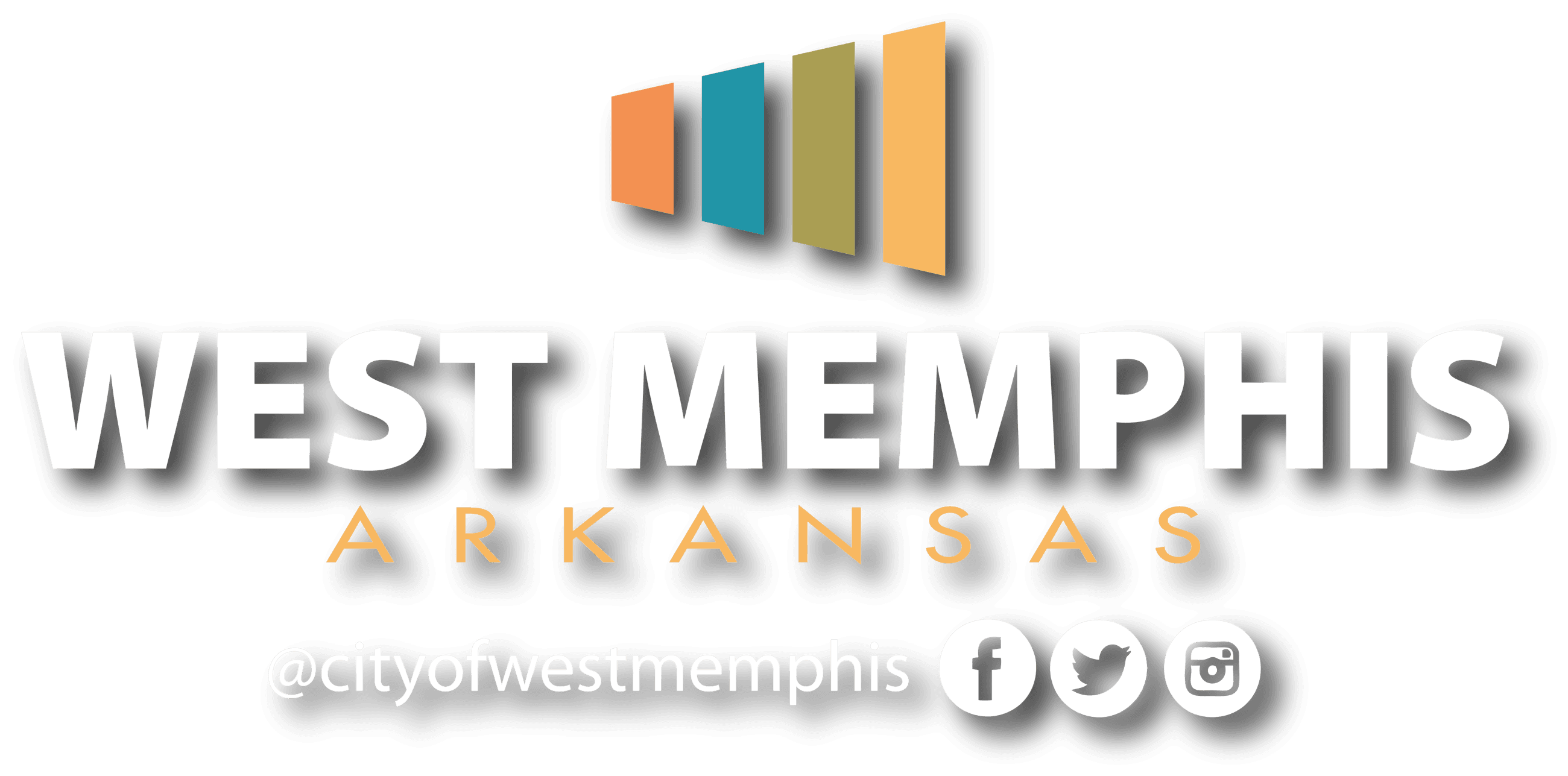 Visit West Memphis Bar Logo on Social Media